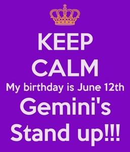 12 June!
