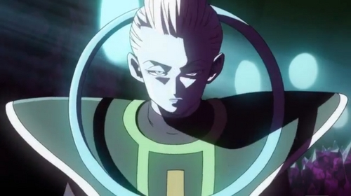At the moment he's the strongest being in existence. Toriyama confirmed that he's the strongest, but even without his confirmation it's kind of obvious due to him knocking out Beerus with one hit, who গোকু couldn't even battle damage... Toriyama Scale: Super Saiyan God = 6 Beerus = 10 Whis= 15
