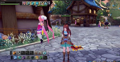 I really like Aura Kingdom :) (extremely old pic, like 50 levels old pic hahah)