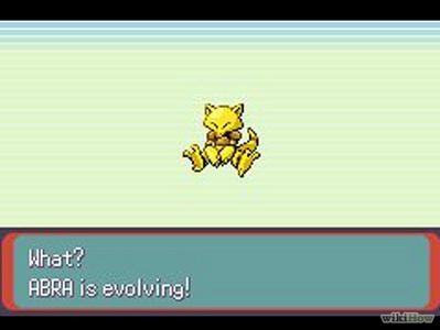 Evolution in pokemon that is~