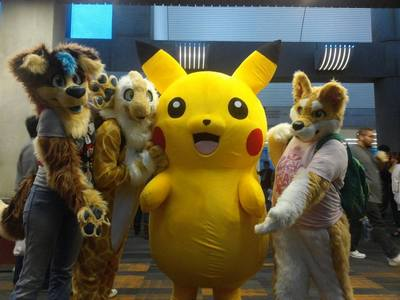 I upendo fursuiting~ It's so much fun picha are of some of my friends~