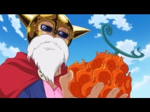 Sabo ate the Mera Mera no Mi