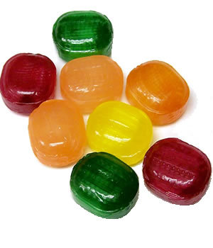i don't like Hard candies because it hurts so bad when stuck !!! once it was stuck into my throat and i was almost dead :'(