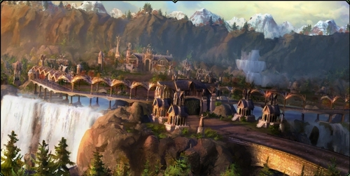 Rivendell (from Lord of the Rings)