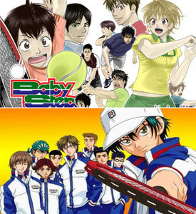 I was thinking of watching Prince of Tennis, because I really enjoyed watching Baby Steps.