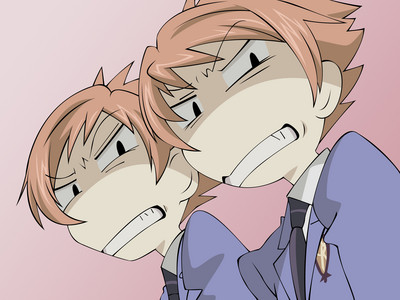 the twins from ouran