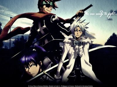 My brother and one of my best mga kaibigan told me about D Gray Man which prompted me to watch it and I loved it ever since