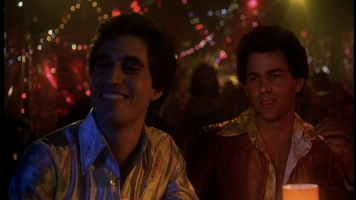 Screencap of Joey and Paul in Saturday Night Fever :)