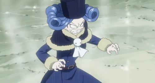 I'm not really a Juvia hater, I just don't like her. 1. She's way too obsessed with Gray 2. Her voice is kind of weird 3. The way she refers to herself in third person is annoying. 4. The way she dresses, although Lucy is worse. (the pic below is the outfit I dislike most on her... plus her face looks really funny, so I had to share that XD)