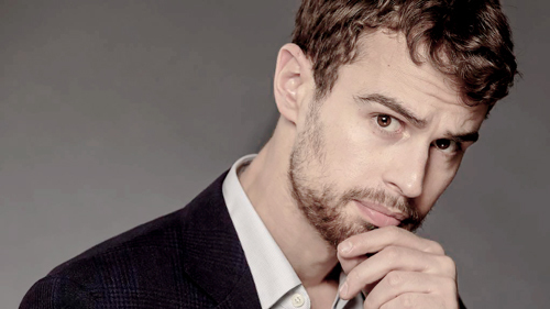 my sexy Theo with stubble<3