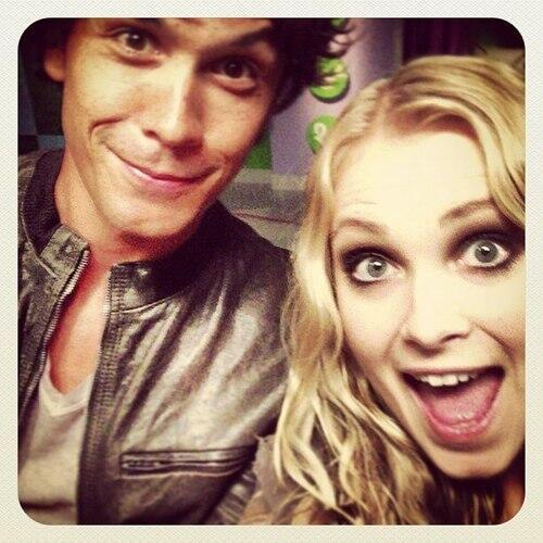 I'm picking this picture because they're just way too dang adorable. {Bob and Eliza}