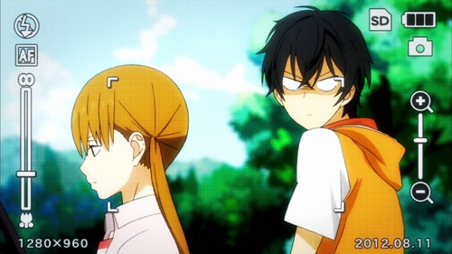 Been watching My Little Monster. A few lebih eps to go~ This anime is great hahaha