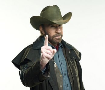 Chuck Norris from real life coz he is awesome!