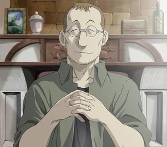 Shou Tucker from Fullmetal Alchemist