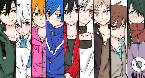 Mekakucity actors, Deathnote or Bleach. Not the best suggestions, but they're my favourites