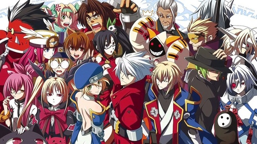 My obsession with BlazBlue is off the charts! (BTW can আপনি guess where's my পছন্দ character is?)