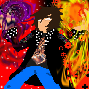 My fantaisie word changes completely depending on what I'm into at the moment...as of right now I'm in Alternia and the story can be found on DA here ==> http://murderinklastresort.deviantart.com/gallery/54885616/GradStuck