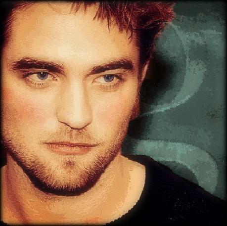 my scruffy Pattinson...I wanna lick him all over<3