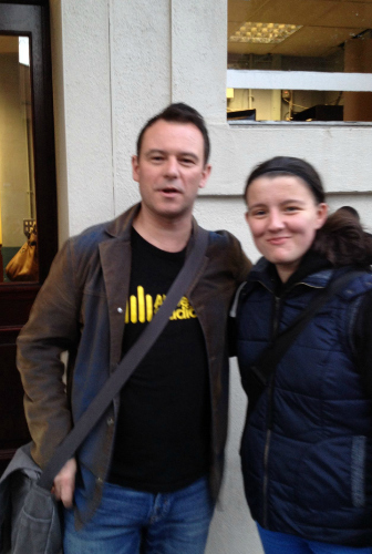 Been a fan of Andrew Lancel since 2006 AND finally met him last night!!! :D