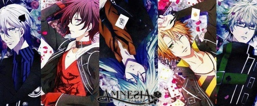 Fricken everyone in Amnesia XD I dont even like these romance stuff but I watched it just cause it had amazing eyes.