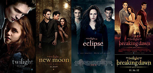 Twilight Saga(especially Edward and Bella) Robert Pattinson Kristen Stewart Fifty Shades of Grey Under the Dome and many meer