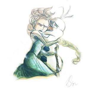 Mine is Elsa from Frozen.