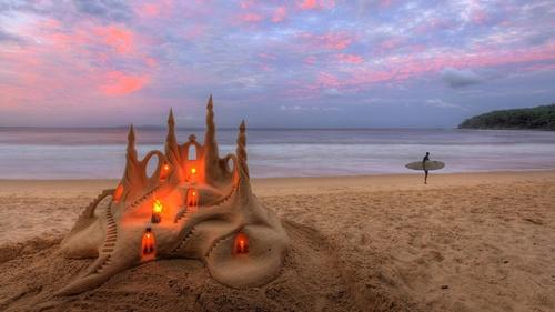 sand art ~