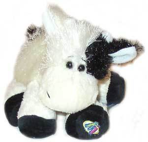 This cute little cow from Webkinz. o3o