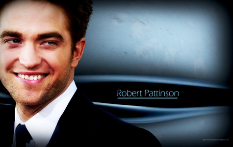 Pattinson's pretty smile<3