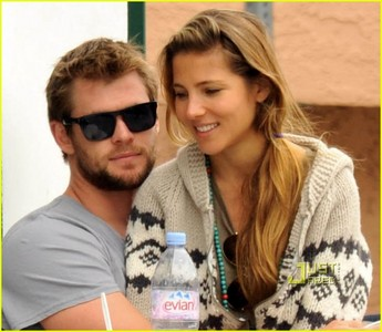 Chris and his then girlfriend,Elsa,who is now his wife<3