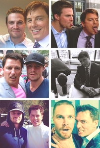 Barrowman and Amell