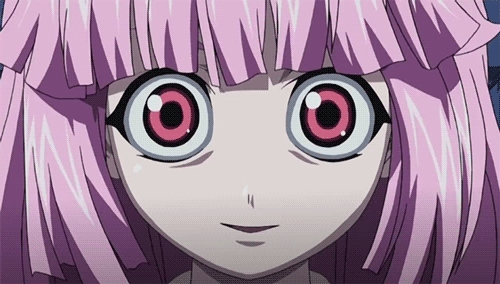 "Mariko Kurama from Elfen Lied ""Hey--this Big Sis--may I kill her?"""
