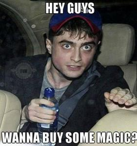 ارے guyzzz wanna buy some magic? XD