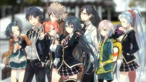 Not sure whether it is my favourite but I really like My Teen Romantic Comedy SNAFU at the moment! ^-^