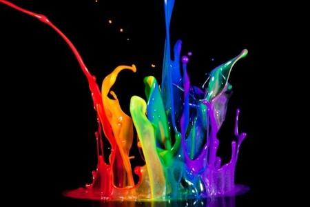 A big splash of colors