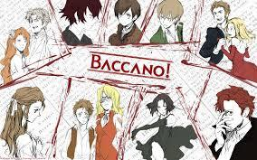 Baccano! Ты know those really bloody scenes или those overkill scenes Ты can't help but laugh it. Yeah, this Аниме is one of those.