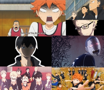 haikyuu, i Любовь it.I was there, laughing alone :)