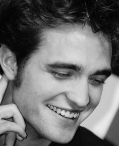 Robert and his beautiful pearly whites<3