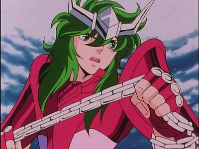 Andromeda Shun from Saint Seiya.