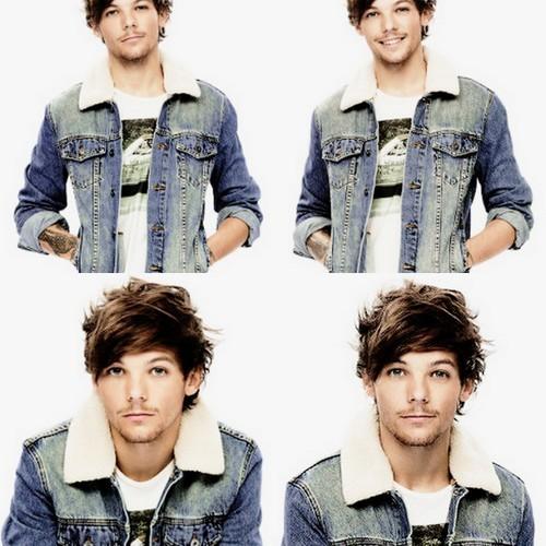 Louis wearing a jacket!