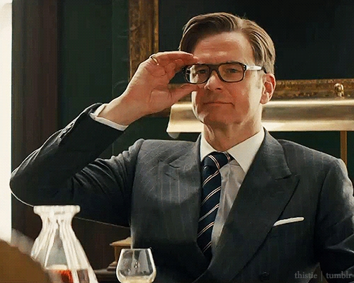 Kings Speech, Kingsman: The Secret Service (He kicked đít, mông, ass in that movie and it was the best thing in the world.) and Pride and Prejudice.