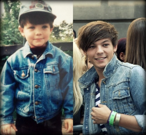 Louis wearing a jacket:)