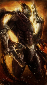 I really want for it to be Strife with guns blazing! He's one of my favorit characters in the series, and I also want to know how the Makers came to have one of his guns in their realm in Darksiders II. That has always puzzled me.