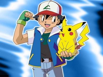 Ash & Пикачу from Pokemon