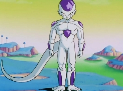 I'm surprised no one chose a Dragon Ball Z character yet. Anyway, here's Frieza