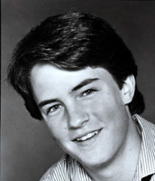 Young Matthew Perry :)