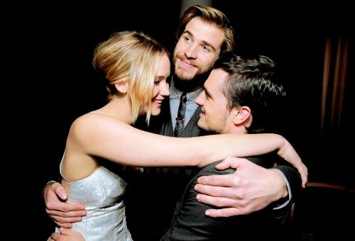 Lawsorthson 3 way hug<3