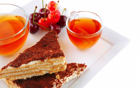 chai and cake ~