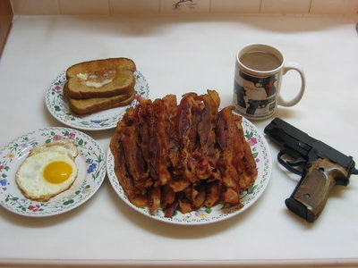 Freedom with a side of bacon.
