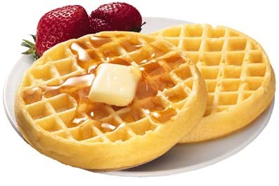 No one alisema anything about waffles! :P